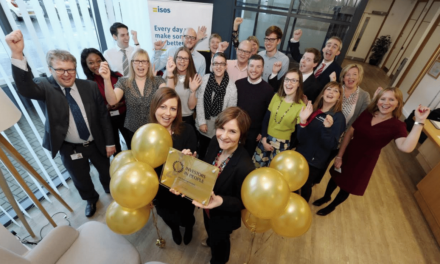 Isos makes the gold standard as an Investor in People