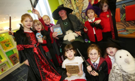 Children discover wizarding world of books at city library