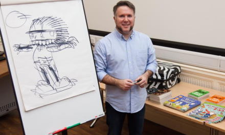 Bob the Builder Artist Inspires Young Students