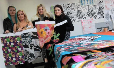 Textile Students hit Paris Trade Show with Dazzling Designs