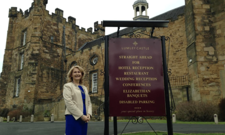 Lumley Castle appoints new director of sales