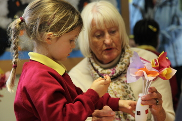 Mothers and Grandmothers celebrated during special Pre-Prep Mother's Day experience at Yarm School