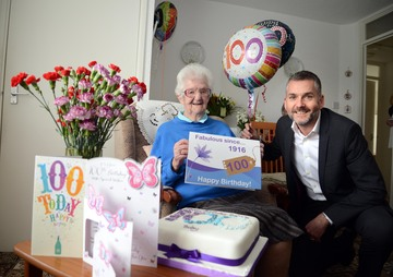 Redcar and Cleveland resident reveals the secret to living at home on 100th birthday