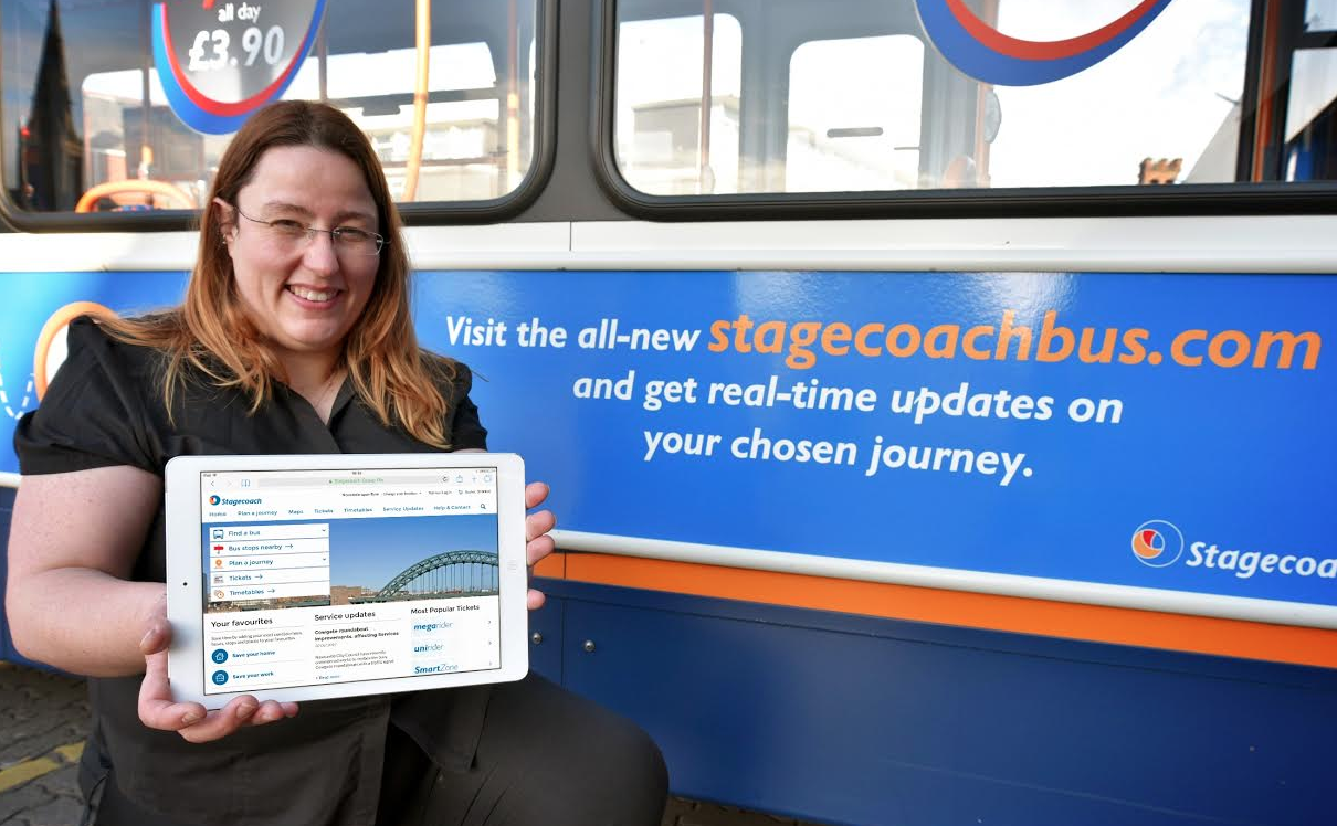Stagecoach's Responsive Website Proves a Hit with Passengers