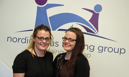 Twins helping to grow the company that trained them