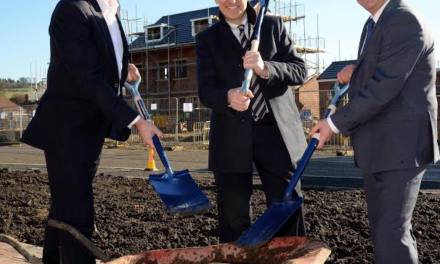 First new homes for housing group commence two years ahead of schedule