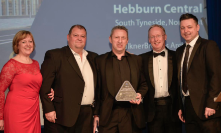 Award for Central Hebburn