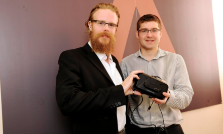 Teesside-based Spearhead Interactive receive a £25,000 Microloan