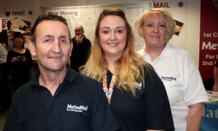 Mailing Staff on the Road to a Healthier Future