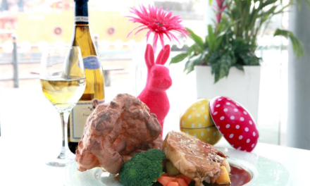 Sunday Lunch with the Easter Bunny