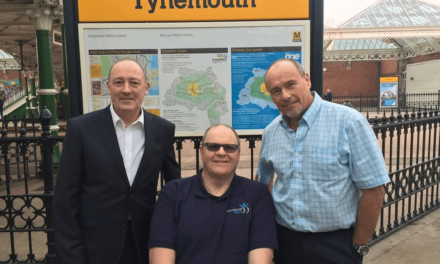 Sixty station challenge for fund-raising Metro travellers