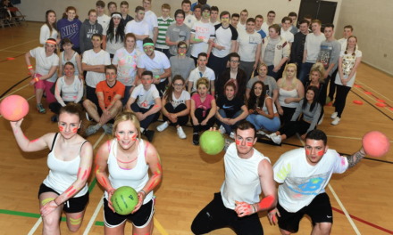 Redcar Students get Active for Sport Relief