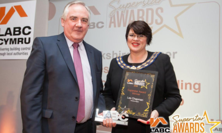 Deserved accolade for Local Authority Building Control Pioneer