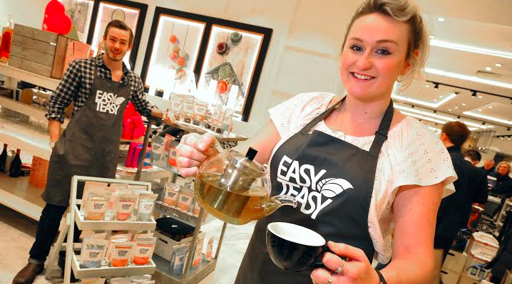 Easy Teasy stirs up support for Fenwick's healthy event