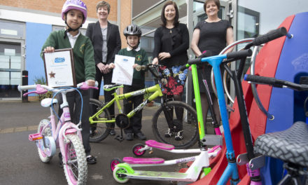 Newcastle primary school first North East school to receive a travel plan award