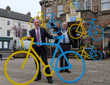 Northallerton prepares to get on its bike for Tour de Yorkshire