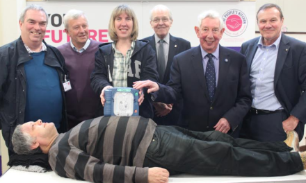 Lifesaving Rotarians donation gets to the heart of homeless charity