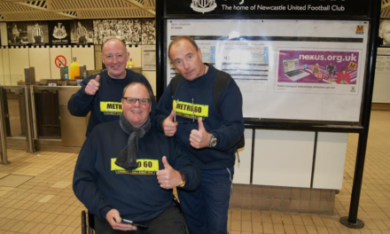 Fund-raising Metro travellers conquer 60 station challenge