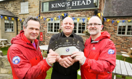 Cleveland Mountain Rescue Team Launch 'Name the Ale' Fundraiser with The King's Head Inn