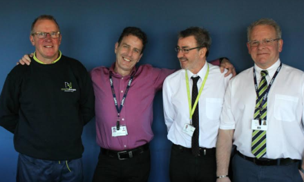 Four apprentices spark friendship that lasts 40 years