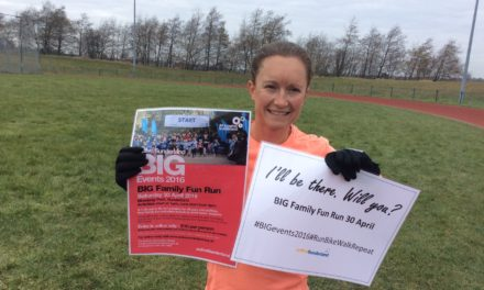 I'll Be There… Will You? The Active Sunderland Big Family Fun Run 2016