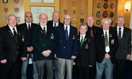 Forces and Veterans Stalwart Named Citizen of the Year