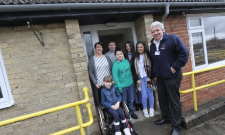 Family finds its home sweet home at converted community centre