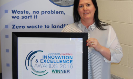 J&B Recycling is crowned as UK leader in high-profile awards ceremony