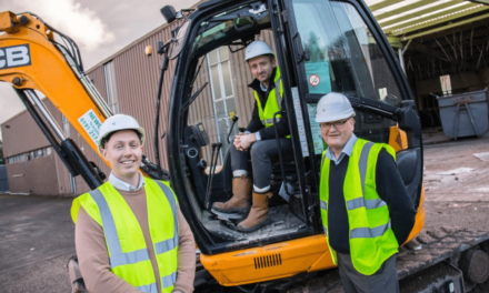 New Construction Firm Lands First Major Contract