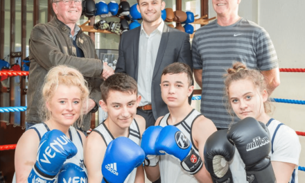 GAS makes donation to Wearside boxing club