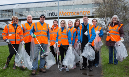 intu Metrocentre team cleans for the Queen