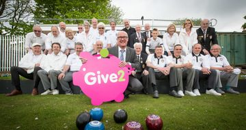 Community groups bowled away by charity donations