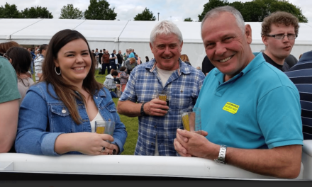 Tynedale Beer Festival on Crest of a Wave