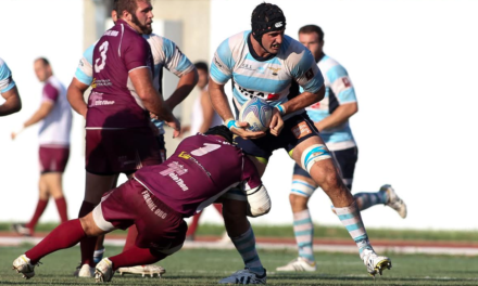 Newcastle Falcons in double American swoop