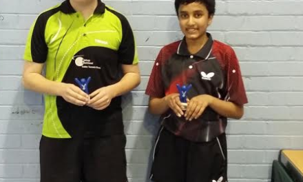 Staffordshire success for Table Tennis Club