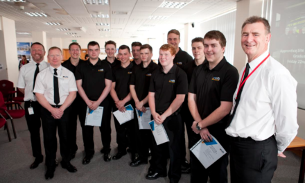 Teesside's first high-risk safety apprentices praised for giving 150%