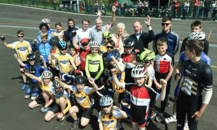 Velodrome Launch Celebrates Cycling in Middlesbrough