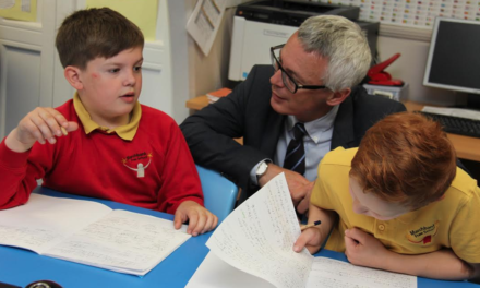 Minister heads to Darlington for education