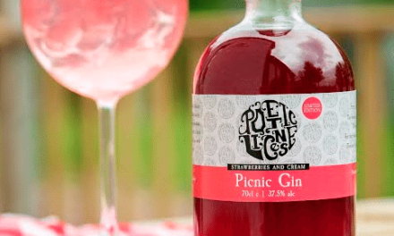 Strawberries and Cream Captured in New North East Gin