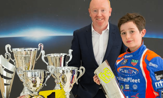 North East businesses back karting star