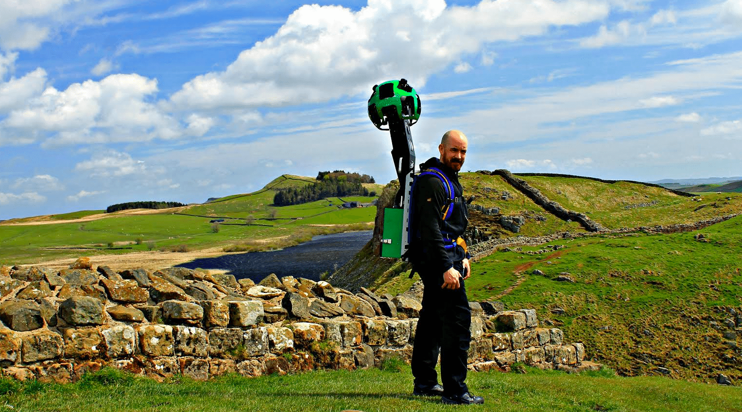 David takes on epic walking challenge to celebrate 60 years of Northumberland National Park!