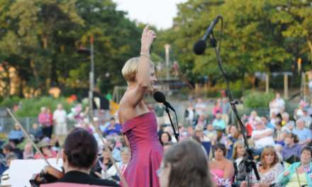 Rousing renditions at proms in the park