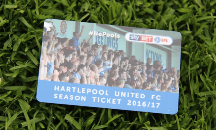Hartlepool United FC: 2016/17 Season Ticket Sales Hit 2,000