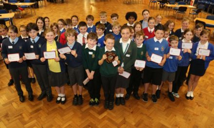 Pupils take up the maths challenge