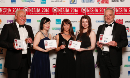 Teesside's Student Living Company named the NE's best in top landlord awards