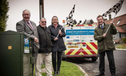 First phase of Northumberland crosses the fibre broadband finishing line as second phase moves up a gear