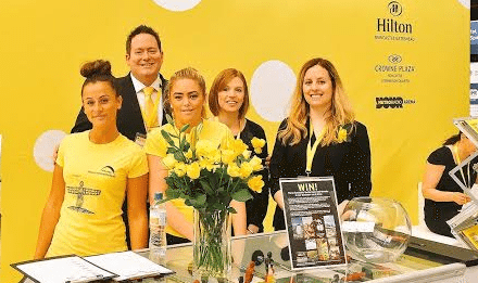 NewcastleGateshead Goes For Gold at The Meetings Show