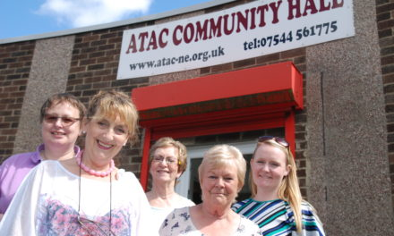 Relief for ATAC community hall users as £33,000 bathroom upgrade projects completes