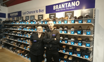 Best foot forward as Brantano steps into Royal Quays