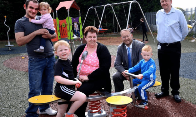 Isos invests £55,000 in play area